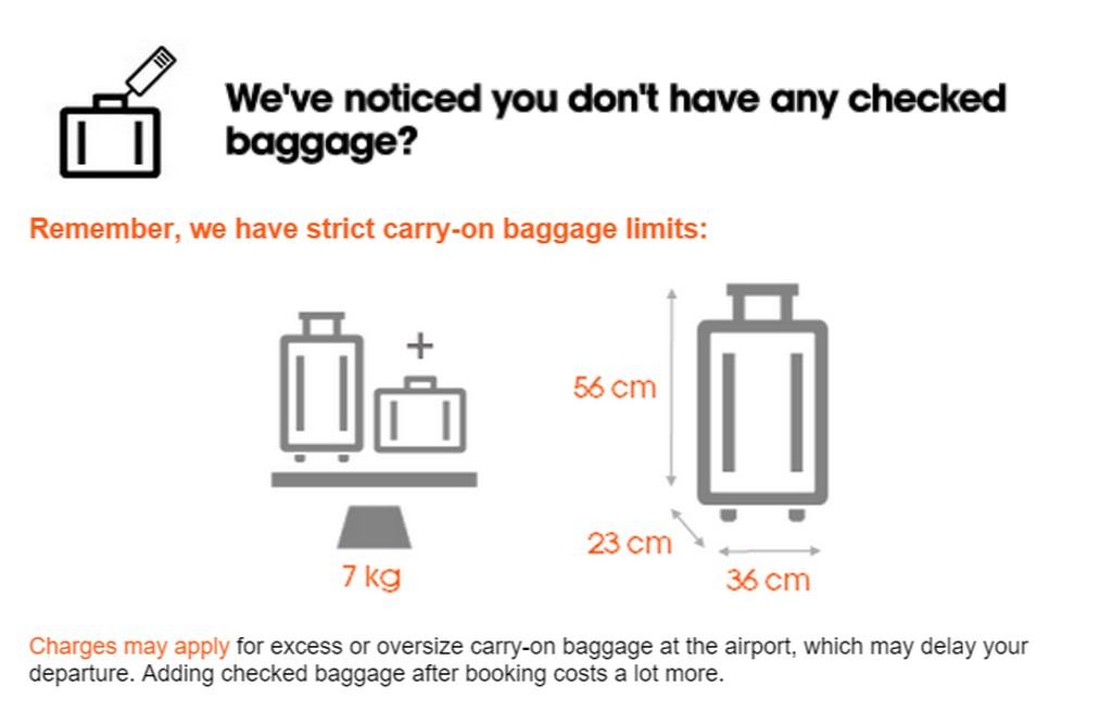 jetstar baggage
