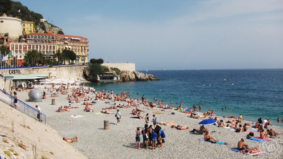 ชายหาดที่มีชื่อเสียงของเมืองนีซ