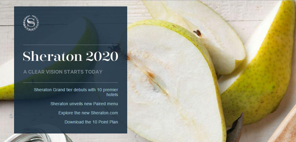sheraton 2020