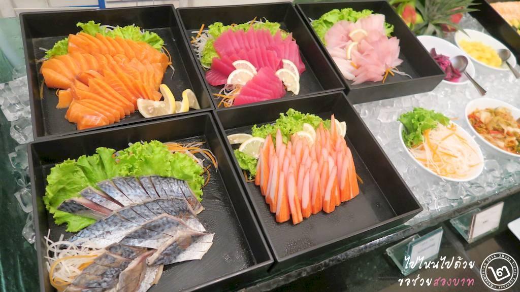 Sushi Buffet, Cafe de Nimes