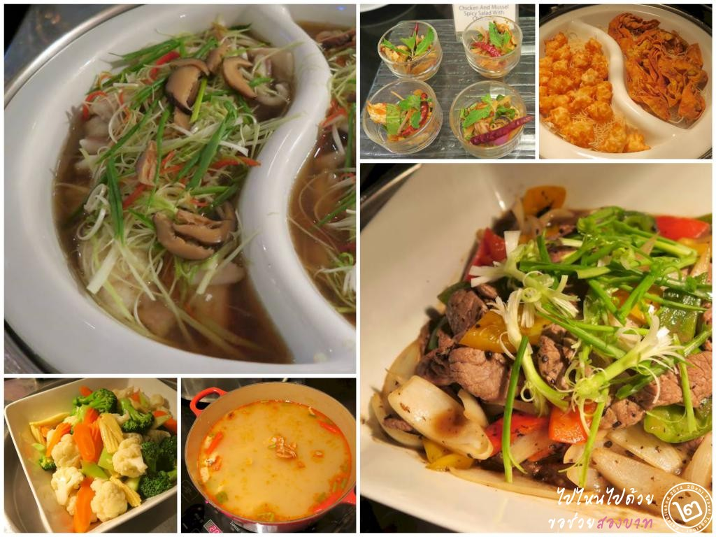 Asian buffet at Cafe de Nimes, Grand Sukhumvit Hotel Bangkok