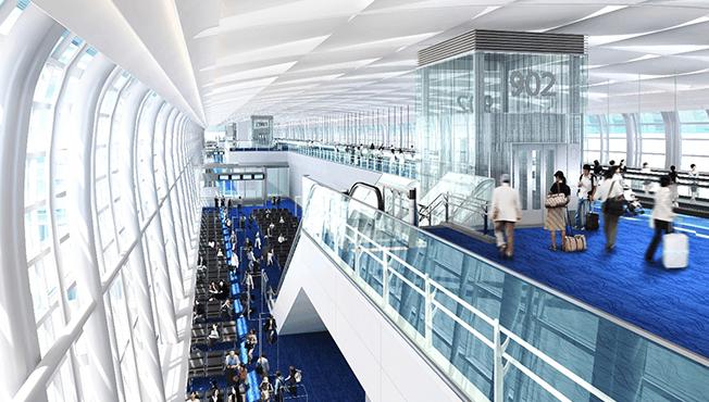 สนามบินฮาเนดะ กรุงโตเกียว ประเทศญี่ปุ่น