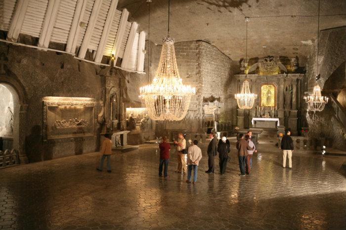 เหมืองเกลือ Wieliczka ในโปแลนด์