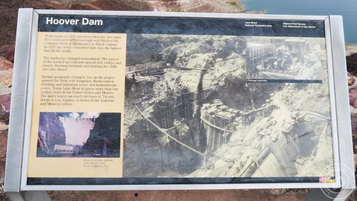 ภาพประวัติการก่อสร้างเขื่อน Hoover