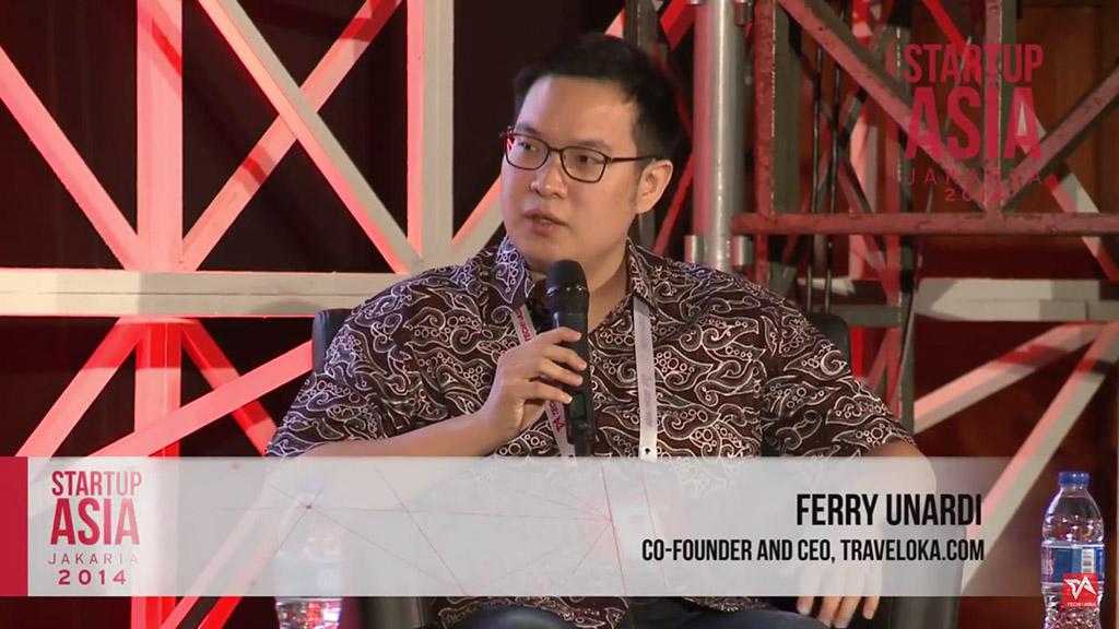 Ferry Unardi, Traveloka - Startup Asia Jakarta 2014