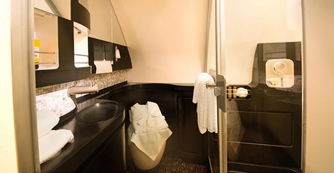 ห้องอาบนำ Etihad The Residence