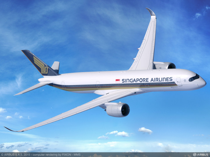 Singapore Airlines Airbus-A350