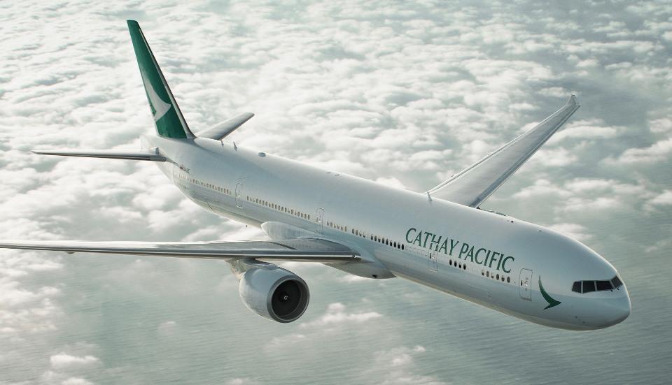 รูปลักษณ์ใหม่ของเครื่องบิน Cathay Pacific