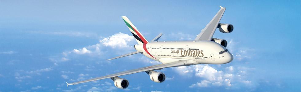emirates A380 bangkok