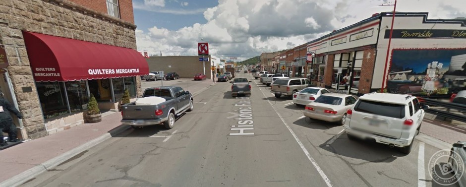ถนนในเมือง Williams (ภาพจาก Google Street View)