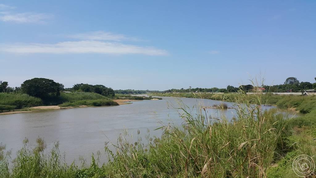 แม่น้ำเจ้าพระยา ตลาดปากบาง สิงห์บุรี