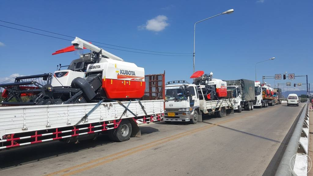 รถคูโบต้า สินค้าส่งออกจากไทยไปพม่า ที่ความนิยมอันดับต้นๆ