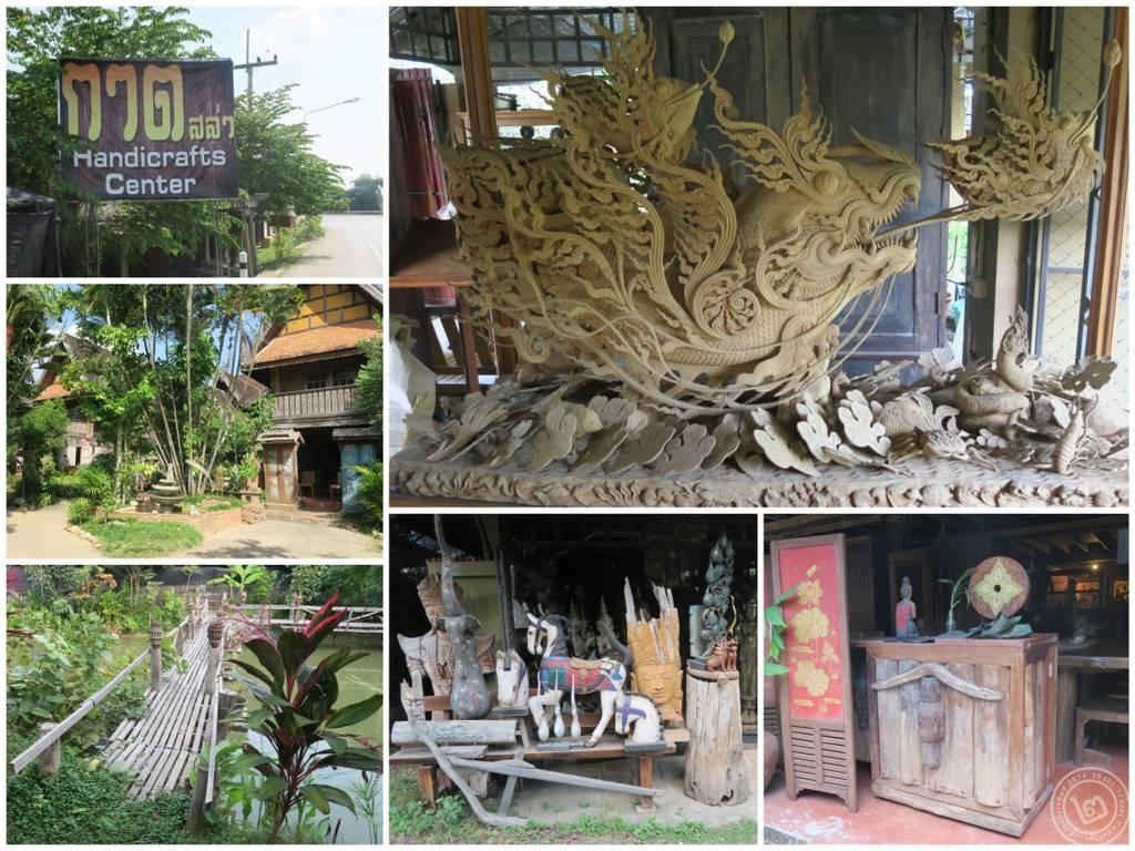 กาดสล่า (ตลาดช่างไม้) อ.สันป่าตอง จ.เชียงใหม่