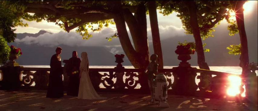 ฉากแต่งงานตอนจบ Episode II