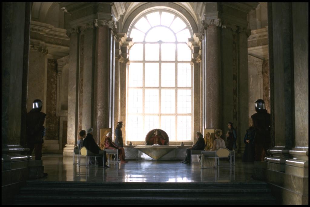 ฉากพระราชวังใน Episode II (ภาพจาก StarWars.com)