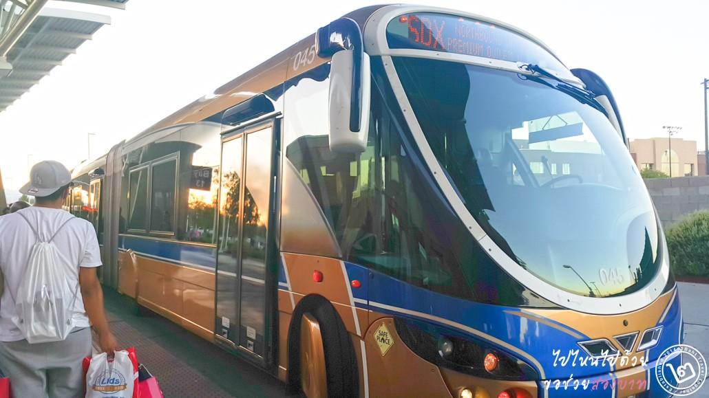 รถ SDX ในลาสเวกัส (Las Vegas)