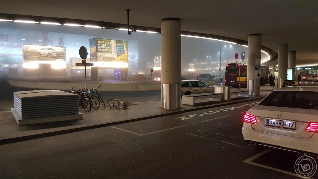 Vienna Airport Bus Stop
