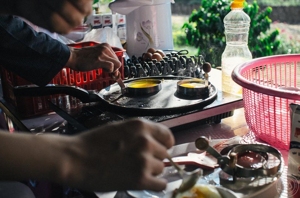 เที่ยวน่าน: อาหารเช้า ตูบนา โฮมสเตย์ อ.ปัว จ.น่าน