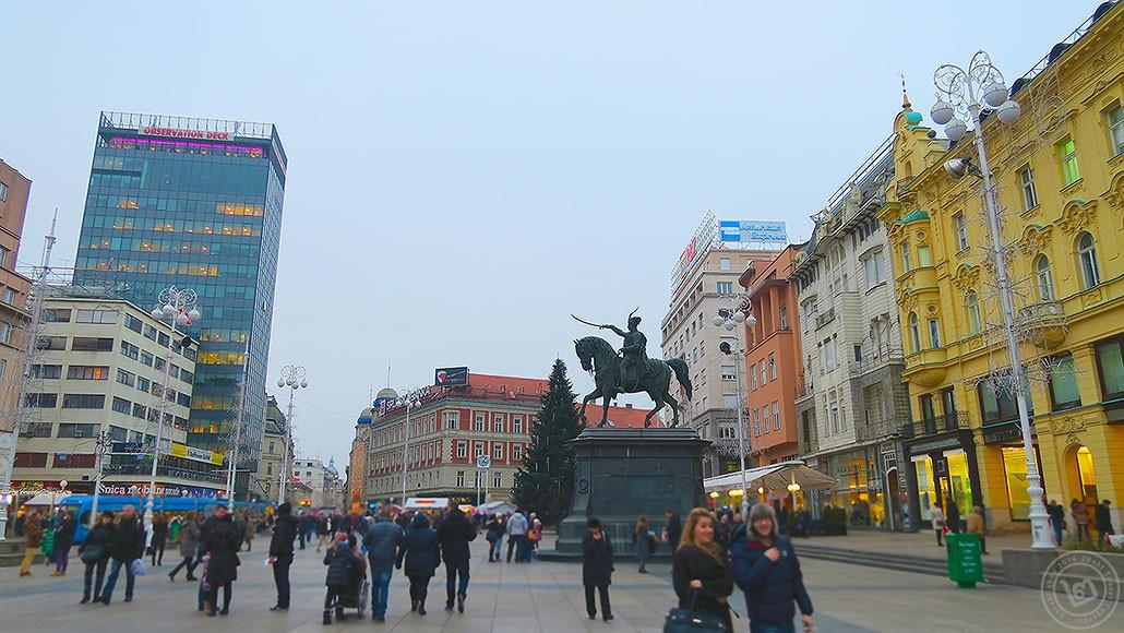 Zagreb Jelacic Square