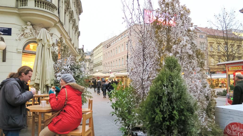 Zagreb Ban Josip Jelačić Square