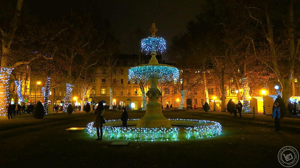 บรรยากาศ Christmas Market ในกรุง Zagreb ตลาดคริสต์มาสที่ดีที่สุดในยุโรป ประจำปี 2016