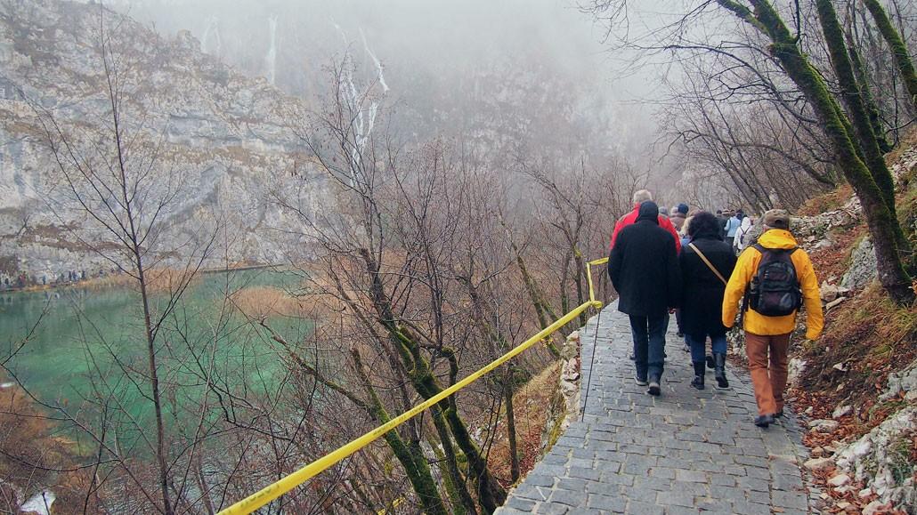 Plitvice Lake Pathway