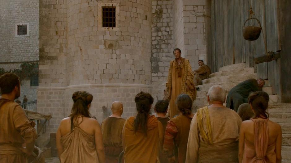 ฉากประท้วงในเมือง King's Landing ถ่ายที่ถนน St. Dominika