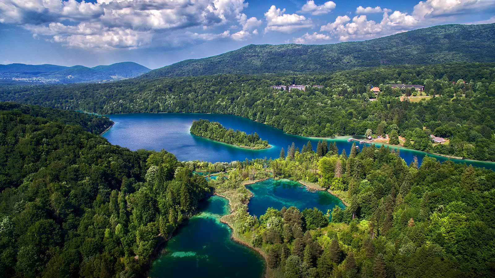 อุทยานแห่งชาติ Plitvice ภาพจากการท่องเที่ยวโครเอเชีย