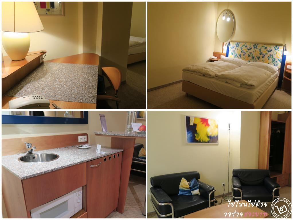 ห้อง Standard Suite โรงแรม Starlight Suiten Salzgries กรุงเวียนนา