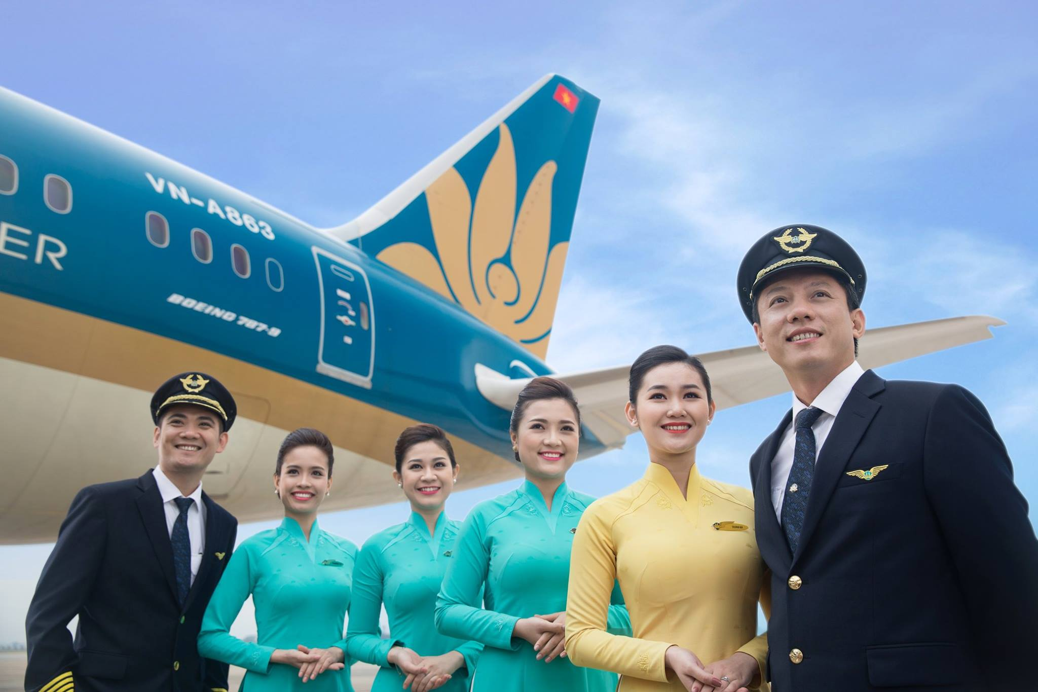 ภาพจาก Facebook Vietnam Airlines