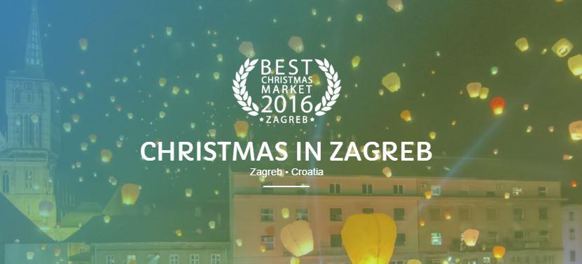 Zagreb กับรางวัล Best Christmas Market 2016