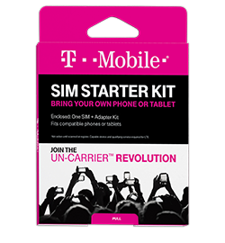 T-Mobile SIM Card Kit
