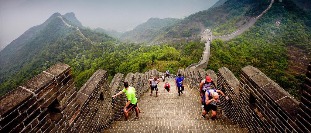 งานวิ่งมาราธอน ต่างประเทศ: ภาพจากเว็บไซต์ Great Wall Marathon