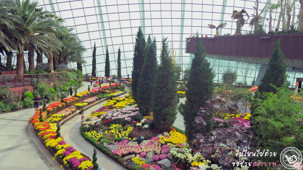 The Flower Dome Gardens by the Bay