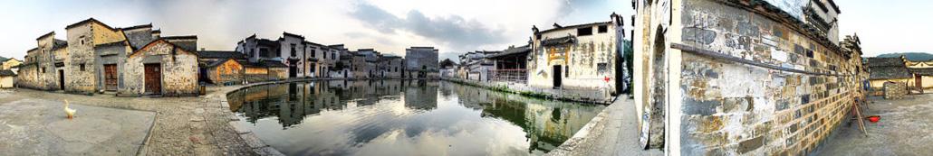 มรดกโลก หมู่บ้านหงชุน (Hongcun)