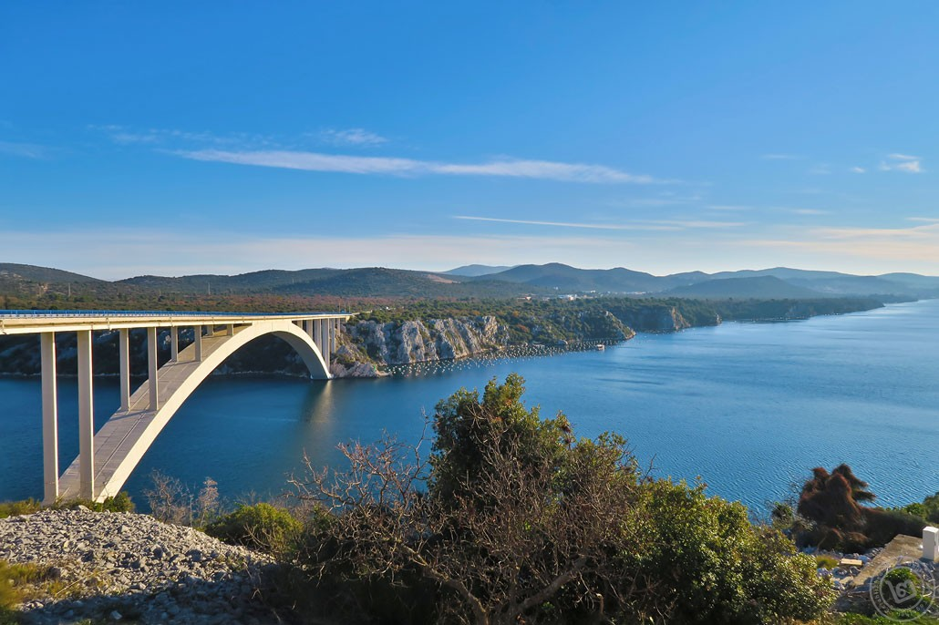 Krka Bridge - Sibenik, Croatia