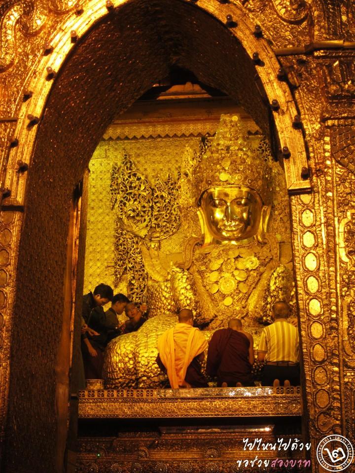 ที่เที่ยว พม่า: พระมหามัยมุนี มัณฑะเลย์ (ภาพโดย 2Baht)