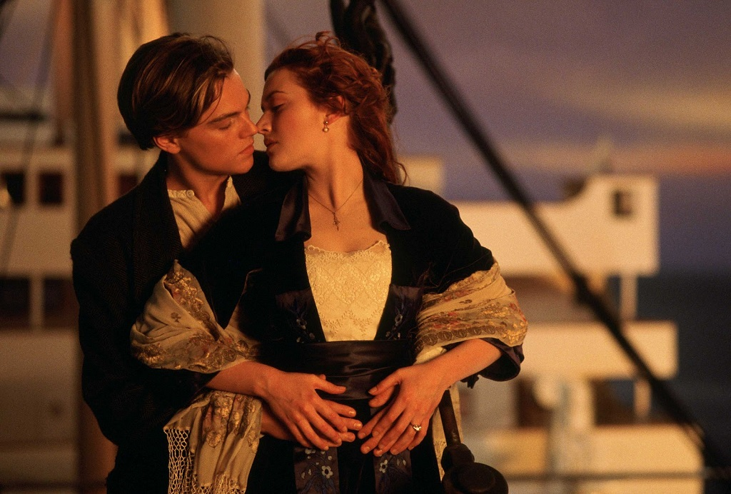 Jack and Rose Titanic