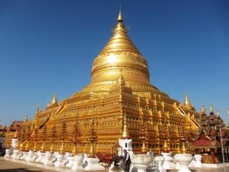 เจดีย์ชเวสิกอง เมืองพุกาม (ภาพโดย 2Baht)