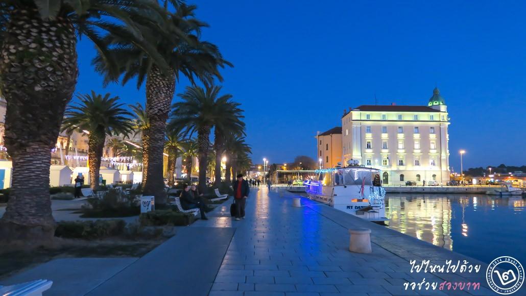 เที่ยวเมือง Split Croatia