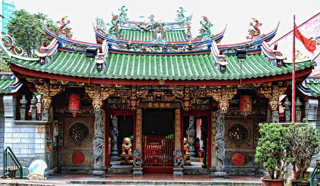 วัดตันสิชงซู (Tan Si Chong Su Temple)