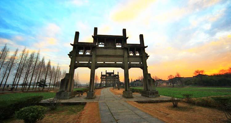 ซุ้มประตู ตระกูลเปา เมืองถังเหย่ (Tangyue Archways Bao Garden)