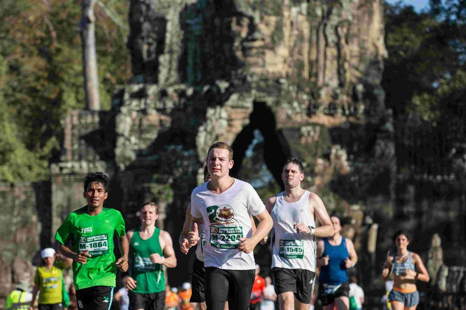 งานวิ่งมาราธอน ต่างประเทศ: ภาพจากเว็บไซต์ Angor Wat Half Marathon