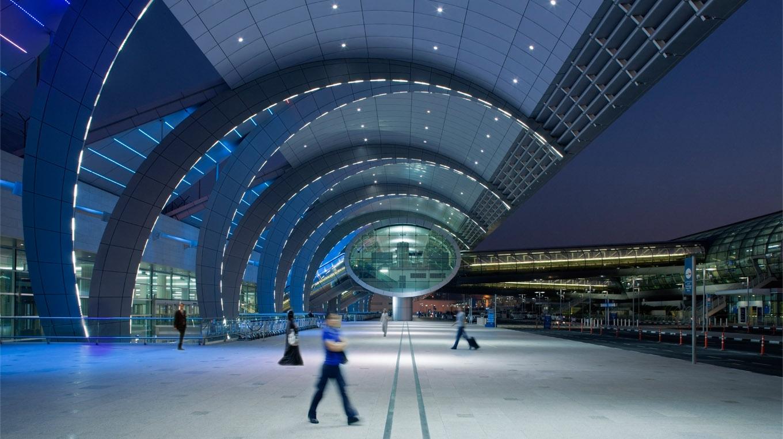 ภาพจากสนามบิน Dubai International Airport (DXB)