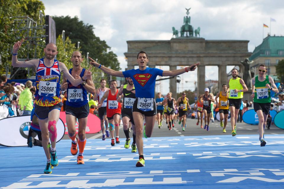 งานวิ่งมาราธอน ต่างประเทศ: ภาพจากเว็บไซต์ Berlin Marathon /SCC EVENTS/Camera4