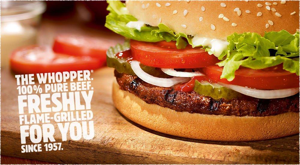 ภาพจาก Burger King