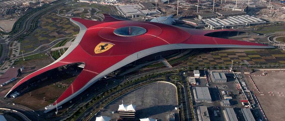 ภาพจาก Ferrari World Abu Dhabi