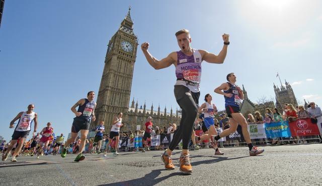 งานวิ่งมาราธอน ต่างประเทศ: ภาพจากเว็บไซต์ London Marathon