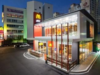 หน้าตาของ McDonald's สาขาพรีเมียมในเกาหลีใต้