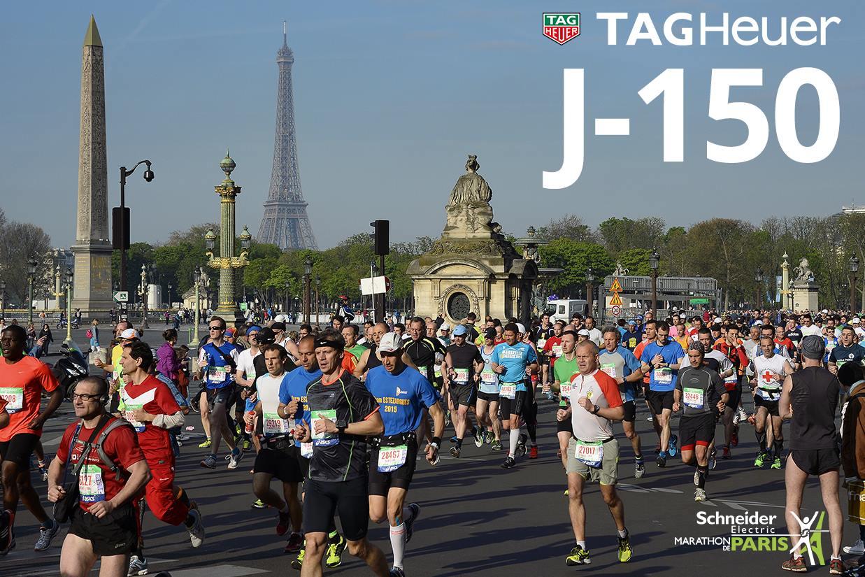 งานวิ่งมาราธอน ต่างประเทศ: ภาพจาก Facebook Schneider Electric Marathon de Paris